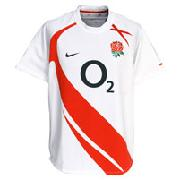 England Home Rugby Shirt 2007/09