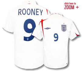 England Home (Rooney 9) 05/07
