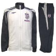 England Bench Junior Woven Suit Flint/White/Titanium