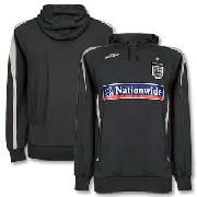 07-08 England Bench Hoody - Dark Grey/Light Grey