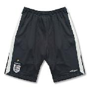 07-08 England Long Knitted Shorts - Boys - Dark Grey/Light Grey