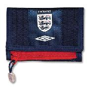 07-08 England Soar Wallet - Bright Navy/White/Red