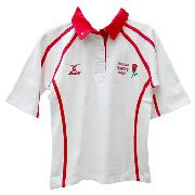 England Replica Ss Rugby Shirt Ladies